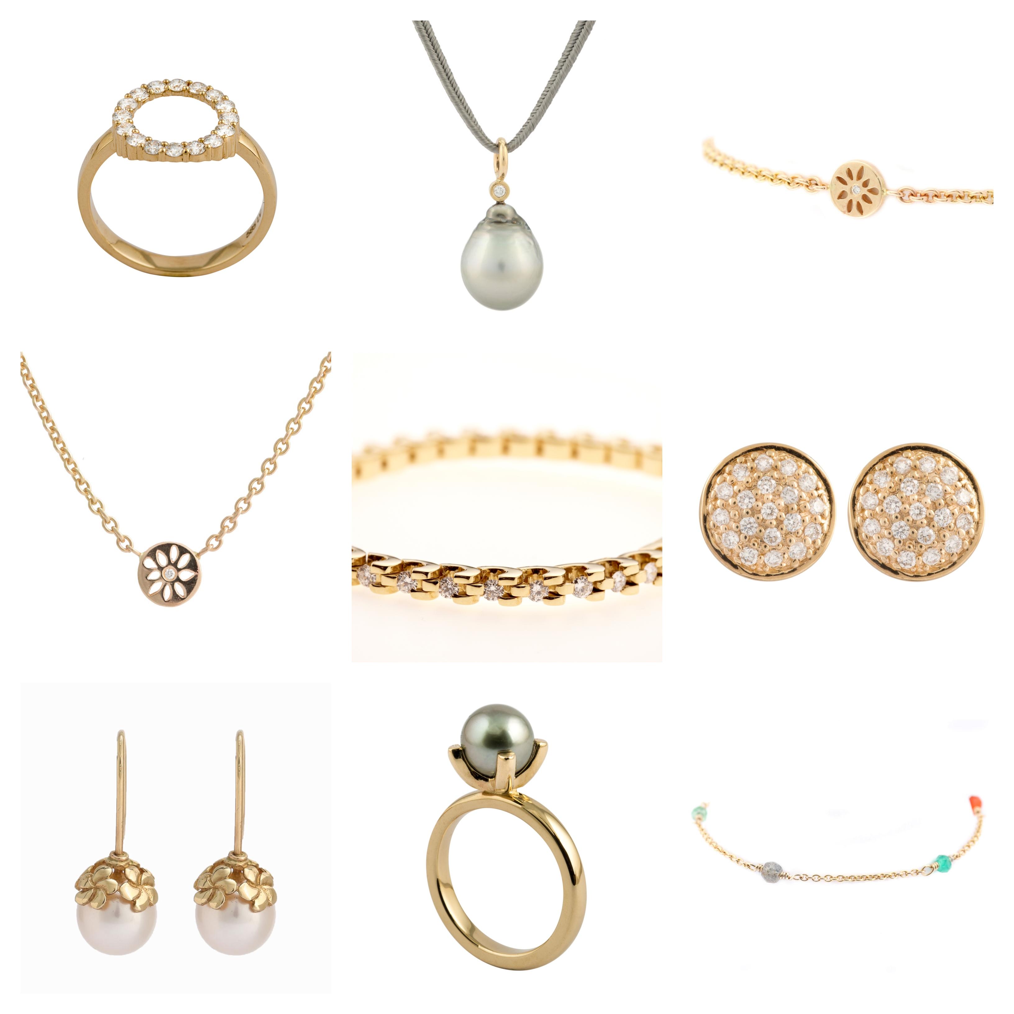 Lene Visholm packshots - alle guldsmykker